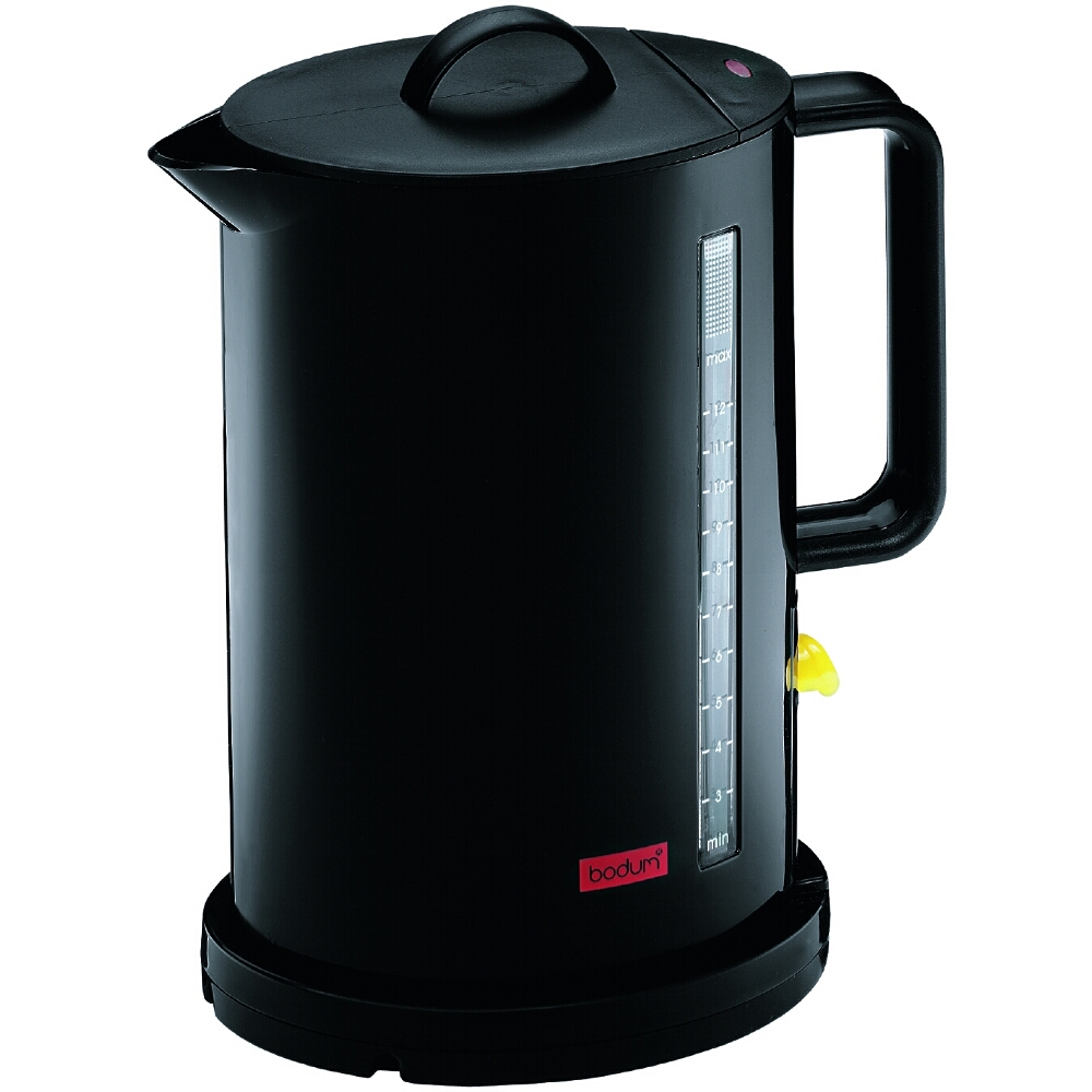Bodum Ibis Black Electric Water Kettle, 57 Ounce