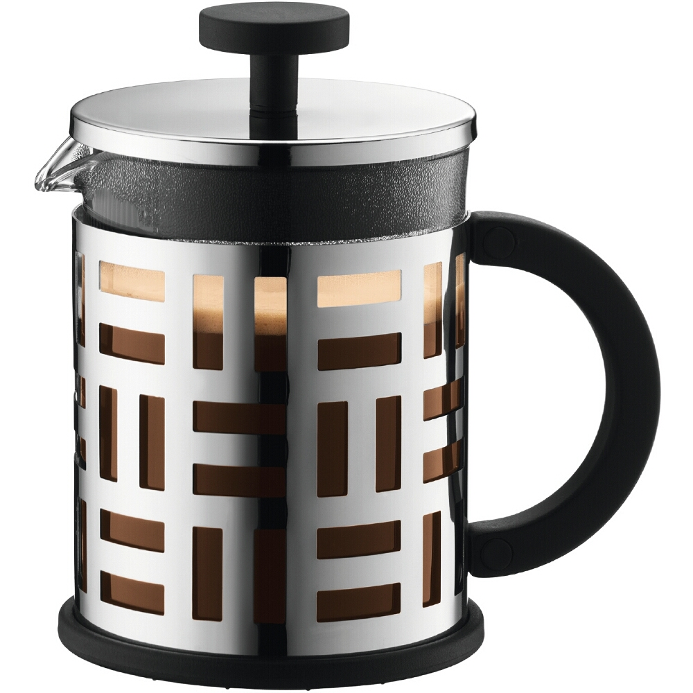 Bodum Eileen Stainless Steel French Press Coffee Maker, 4 Cup