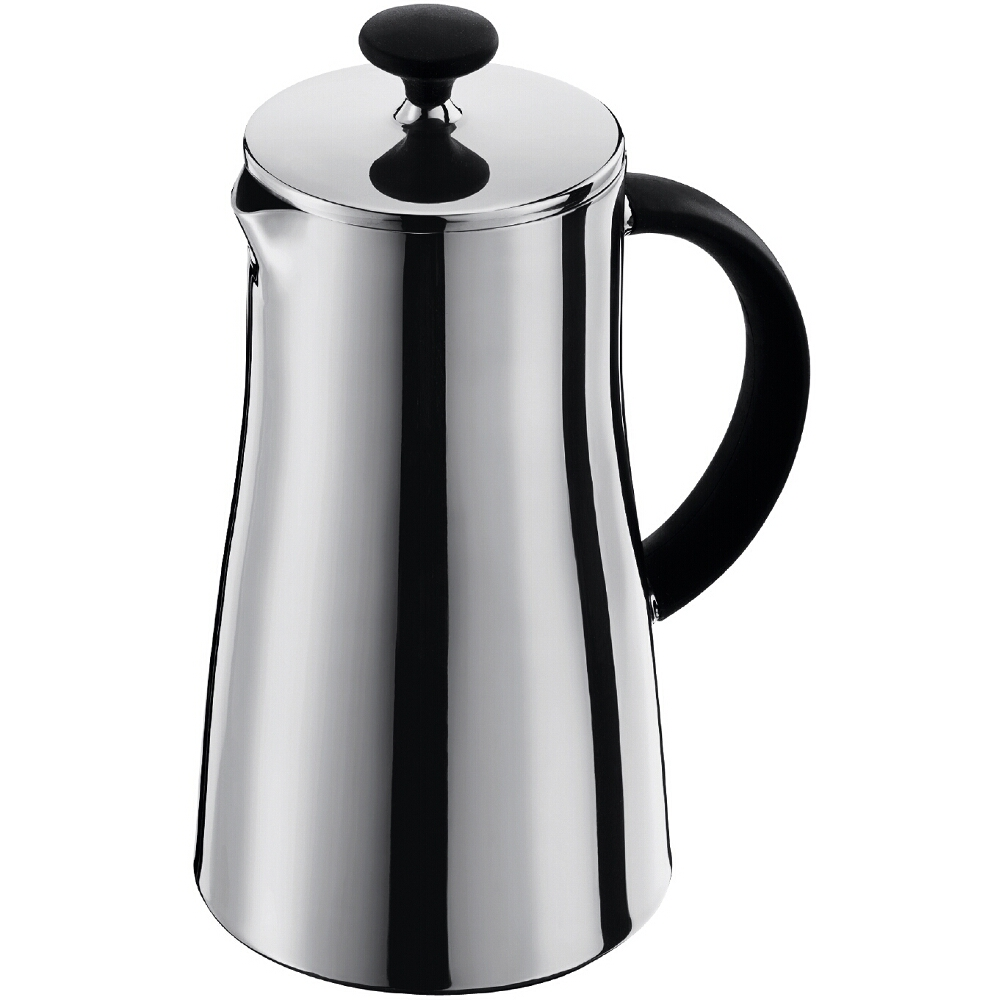 Bodum Arabica Stainless Steel French Press Coffee Maker, 8 Cup