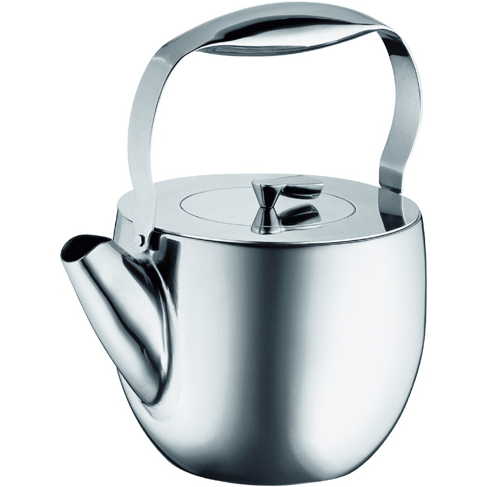 Bodum Columbia Stainless Steel Double-Walled Tea Press, 40 Ounce