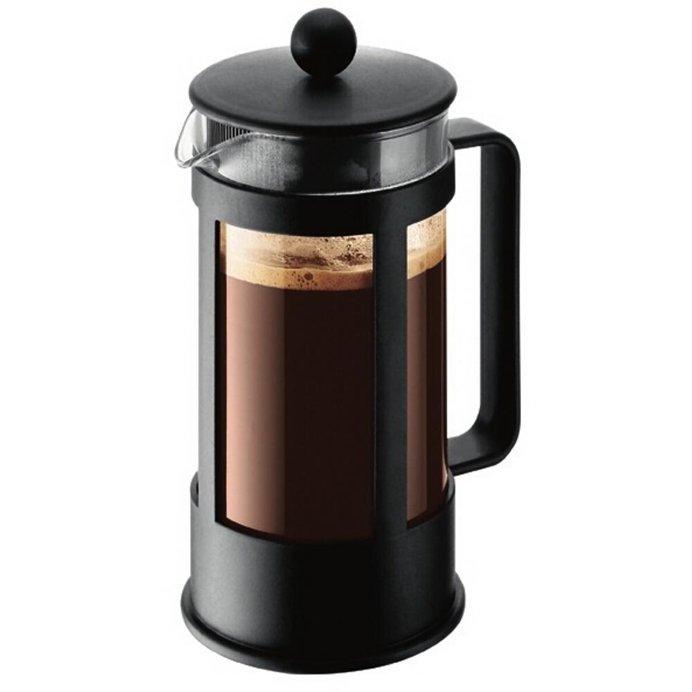 Bodum Kenya Black French Press Coffee Maker, 3 Cup