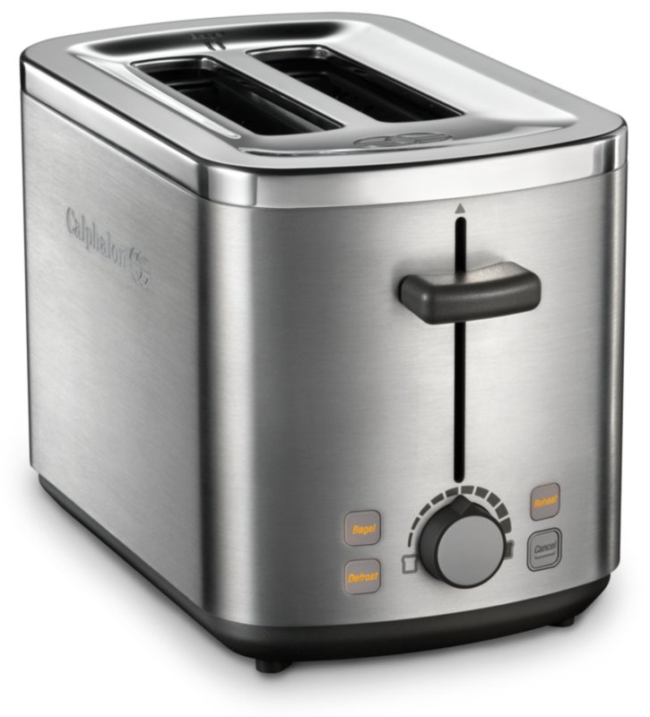 Calphalon Small Electrics Stainless Steel 2 Slot Toaster