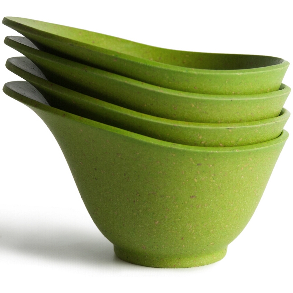 Architec Purelast Green Prep Bowl, Set of 4