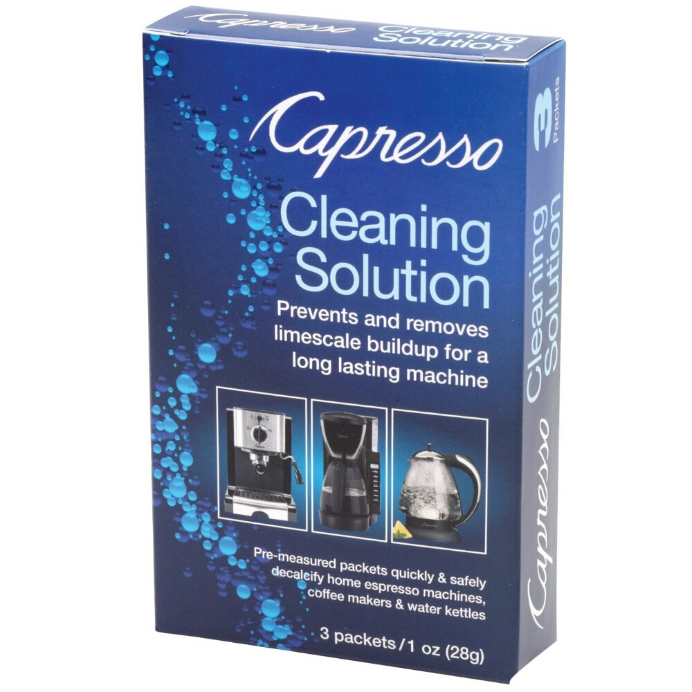 Capresso Cleaning Solution, 4 Ounce Packet