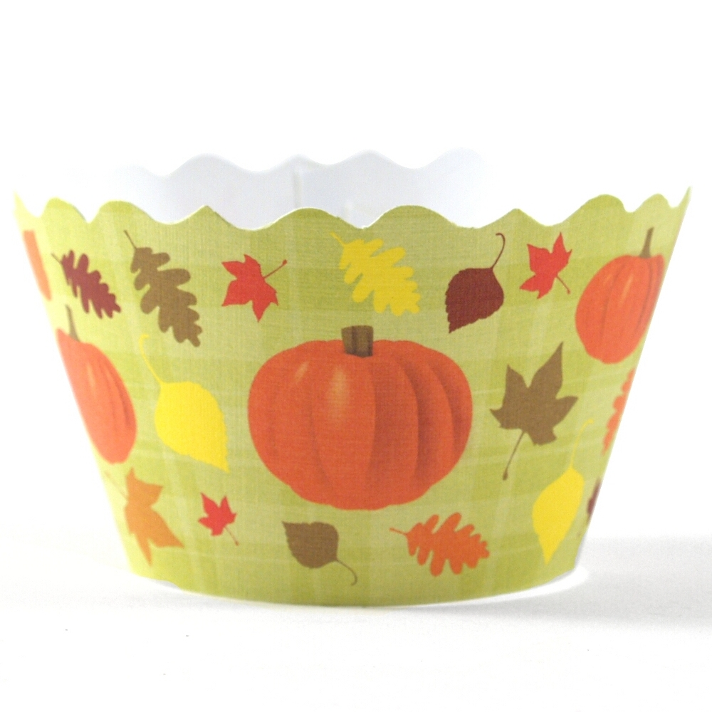 Bella Cupcake Couture Autumn Cupcake Wrapper, Set of 12
