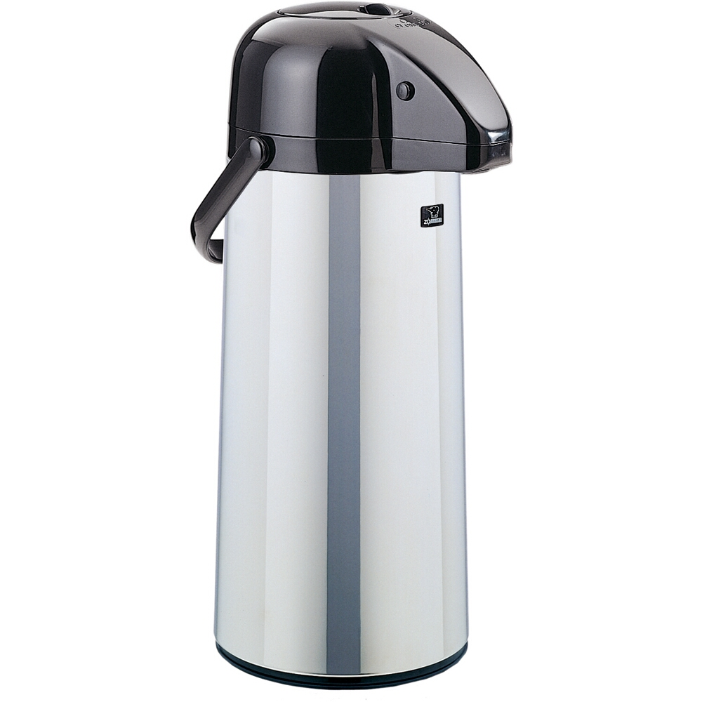 Zojirushi Airpot Stainless Steel Brew Thru Coffee Server, 2.75 Liter