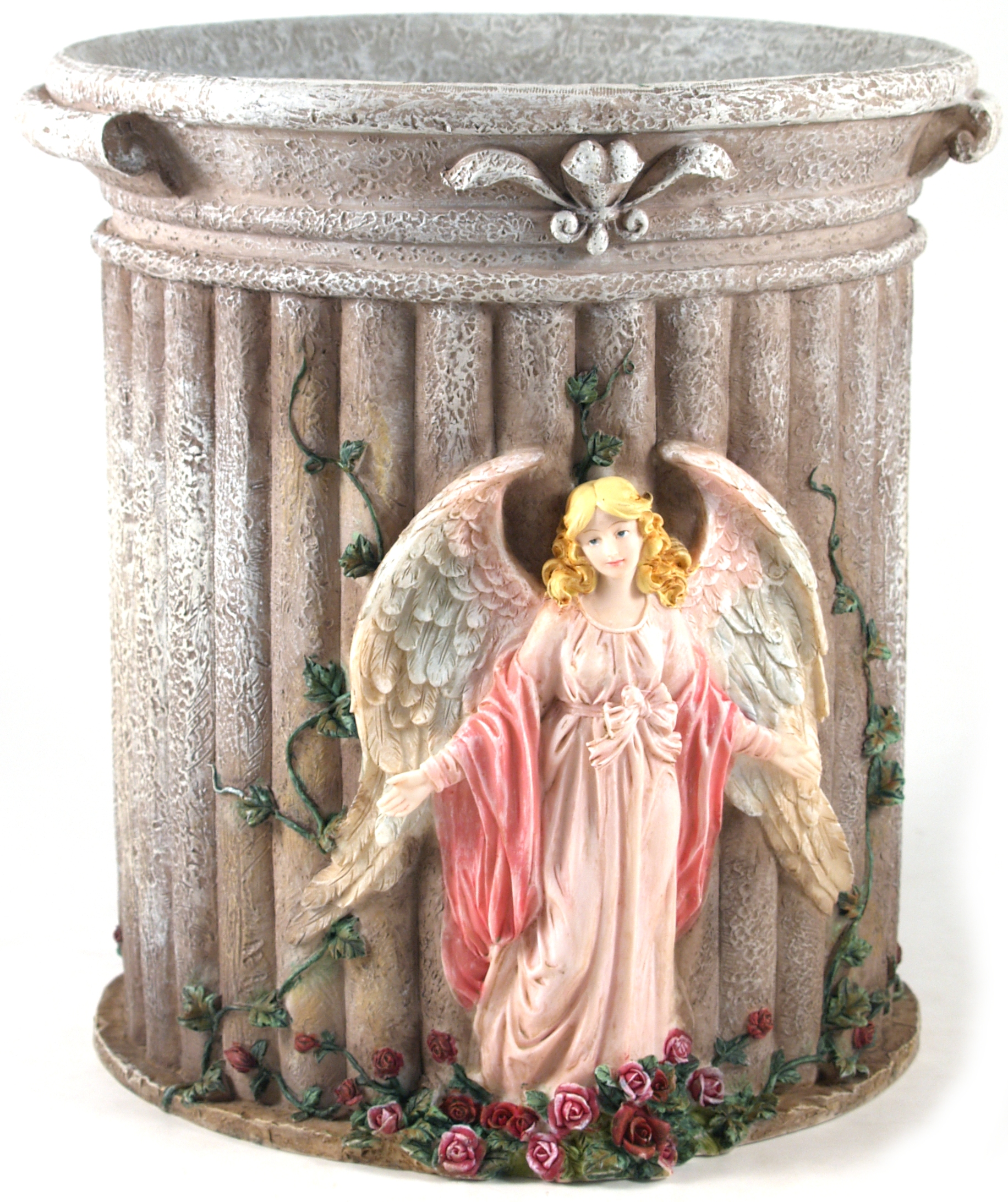 Blonder Herald Angels Waste Paper Basket