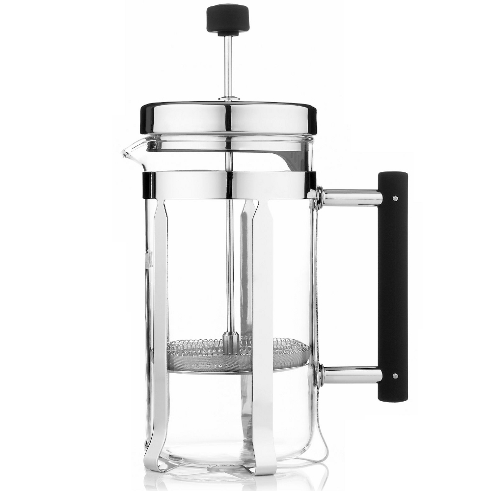 La Cafetiere Classic Nouveau Stainless Steel and Glass Tea Press, 23 Ounce