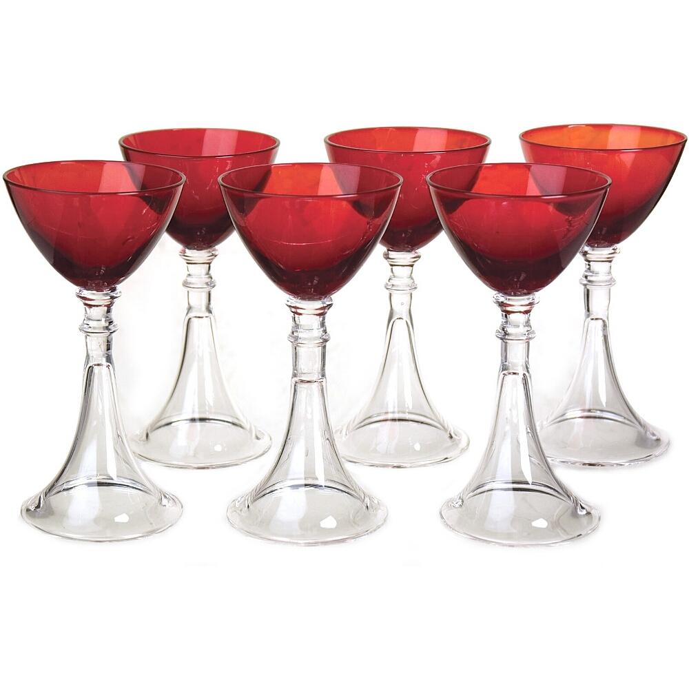 Artland Veranda Ruby Cordial Glass, Set of 6