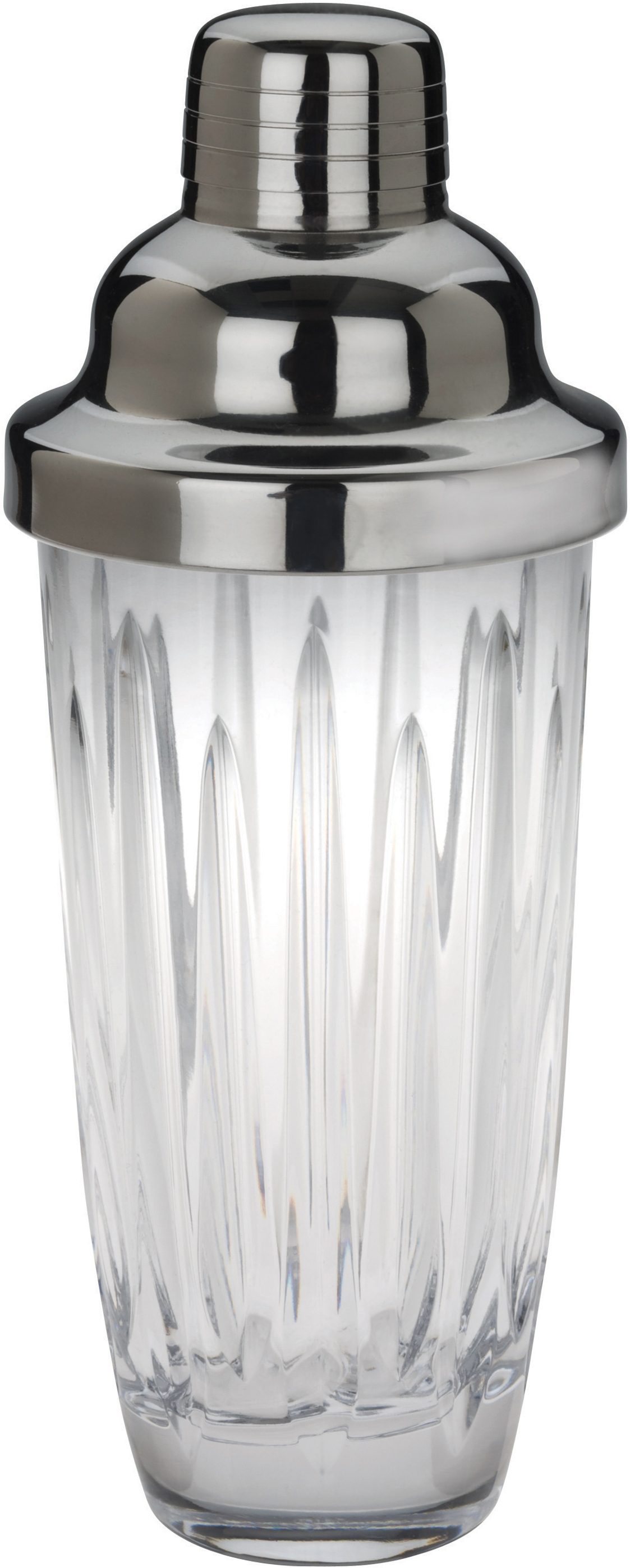Reed & Barton Soho Crystal Martini Shaker