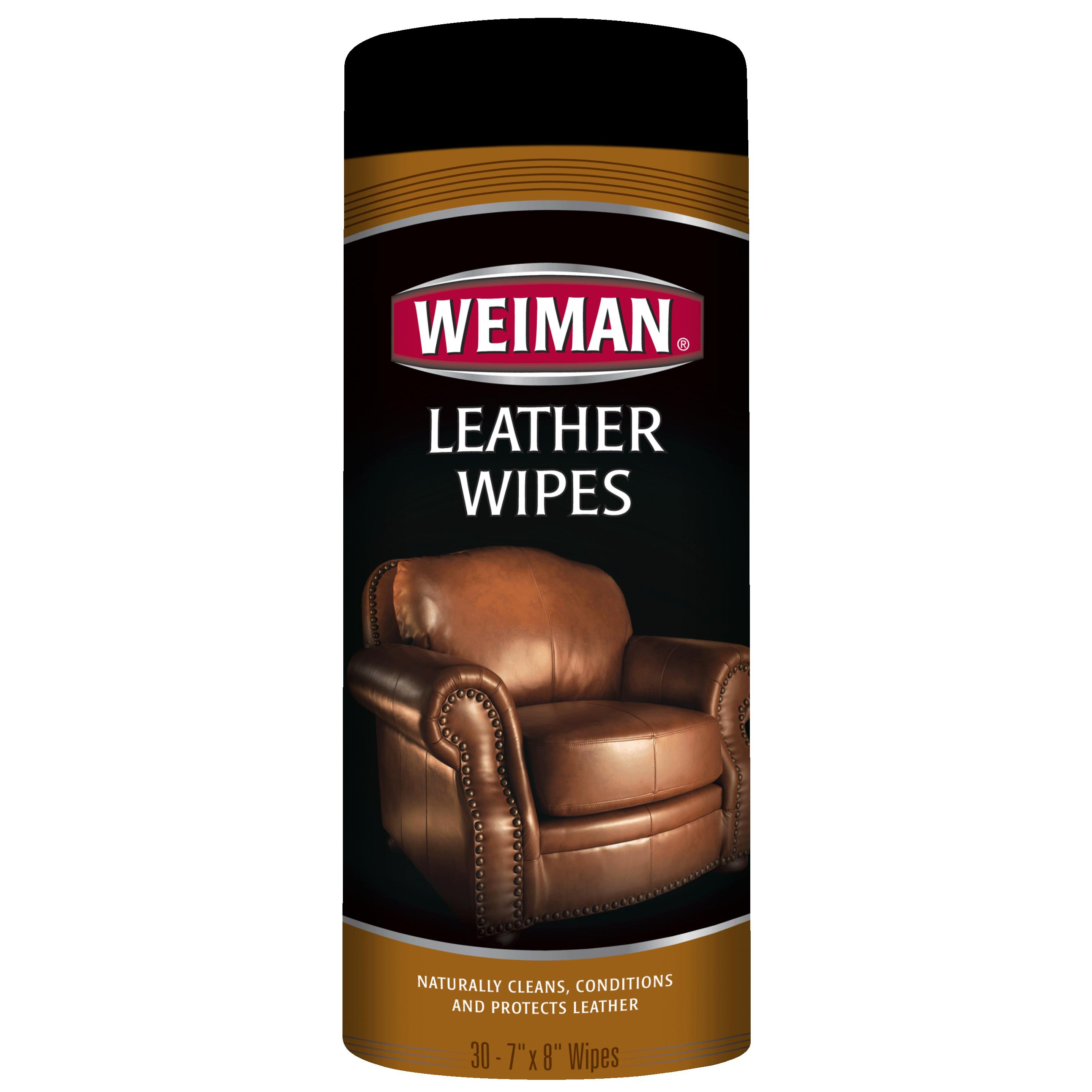 Weiman Leather Wipe, Set of 30