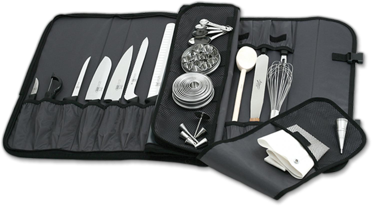 Mercer Innovations Black Nylon 17 Pocket Knife Case