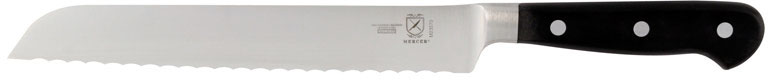 Mercer Renaissance Forged Riveted Bread Knife, 8 Inch