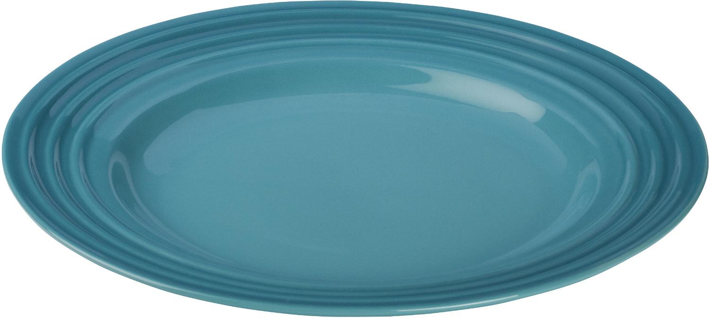 Le Creuset Caribbean Stoneware Salad Plate, 10 Inch