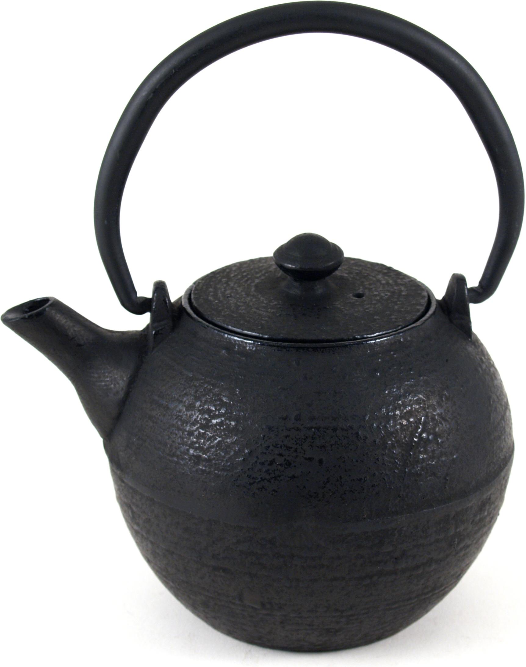 Old Dutch Infinity Matte Black Cast Iron Teapot, 18 Ounce