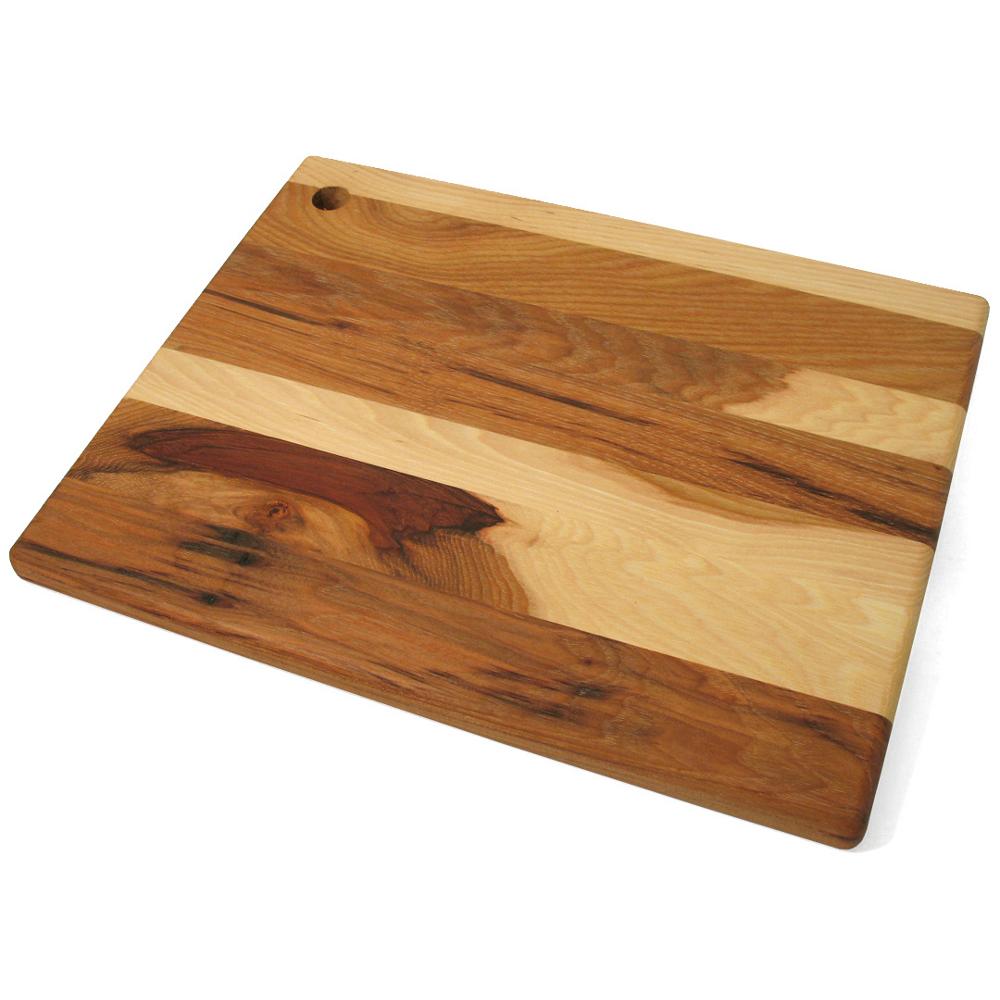 J.K. Adams Hickory Brindle Board, 14 x 11 Inch