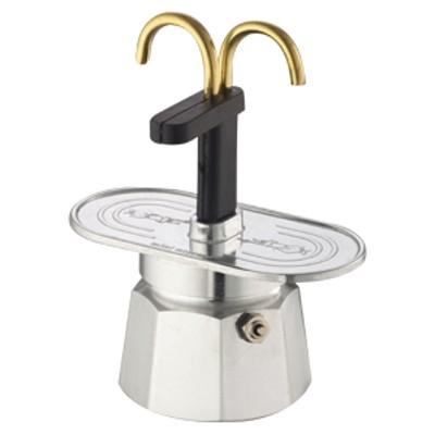 Bialetti Mini Express 2 Cup Stovetop Espresso Maker