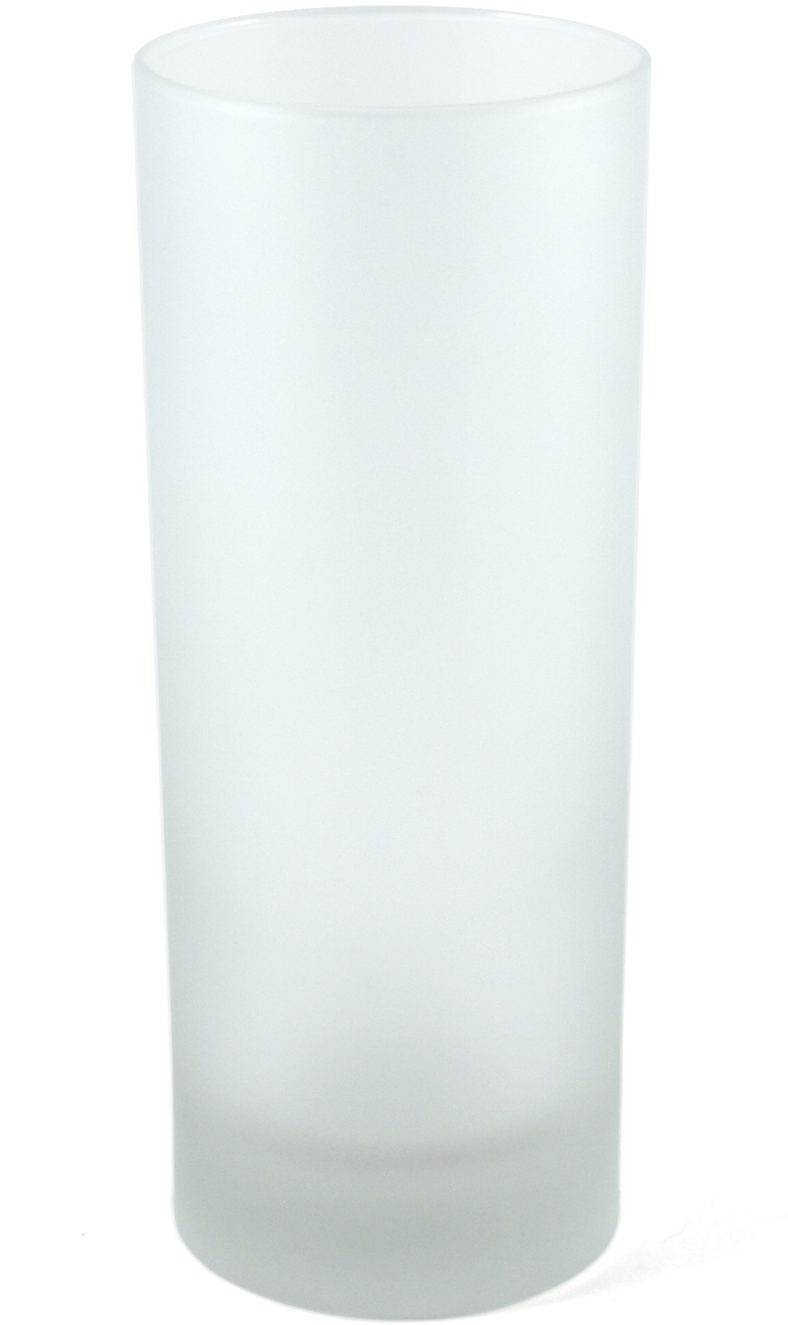 Libbey Frosted Collins Glass, Set of 24