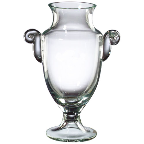 Badash Crystal Mouth Blown Trophy Vase, 12 Inch