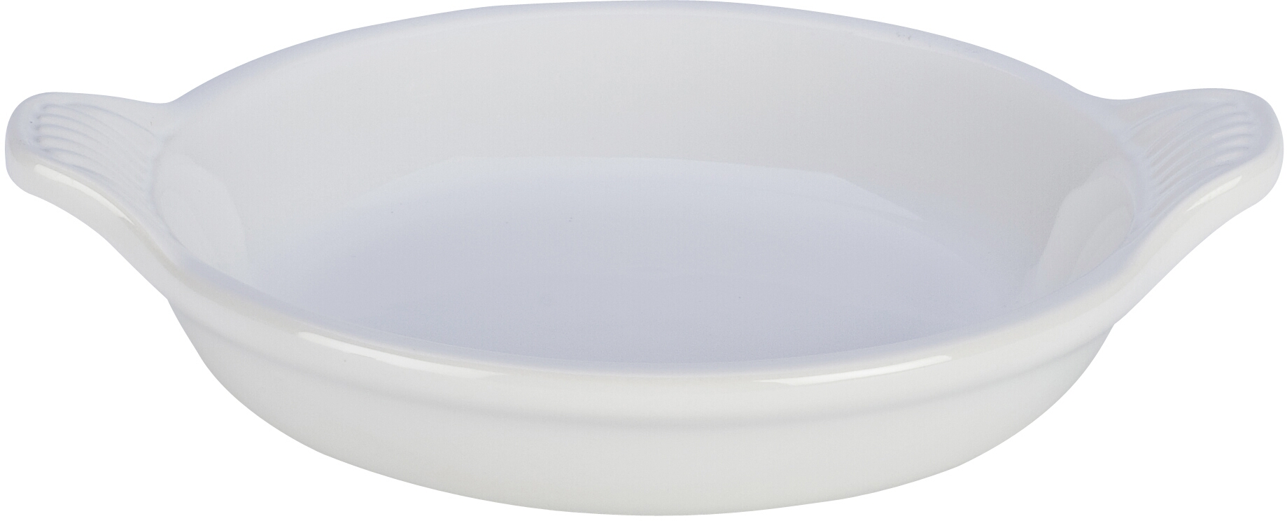 Le Creuset White Stoneware Creme Brulee Dish, 7 Ounce