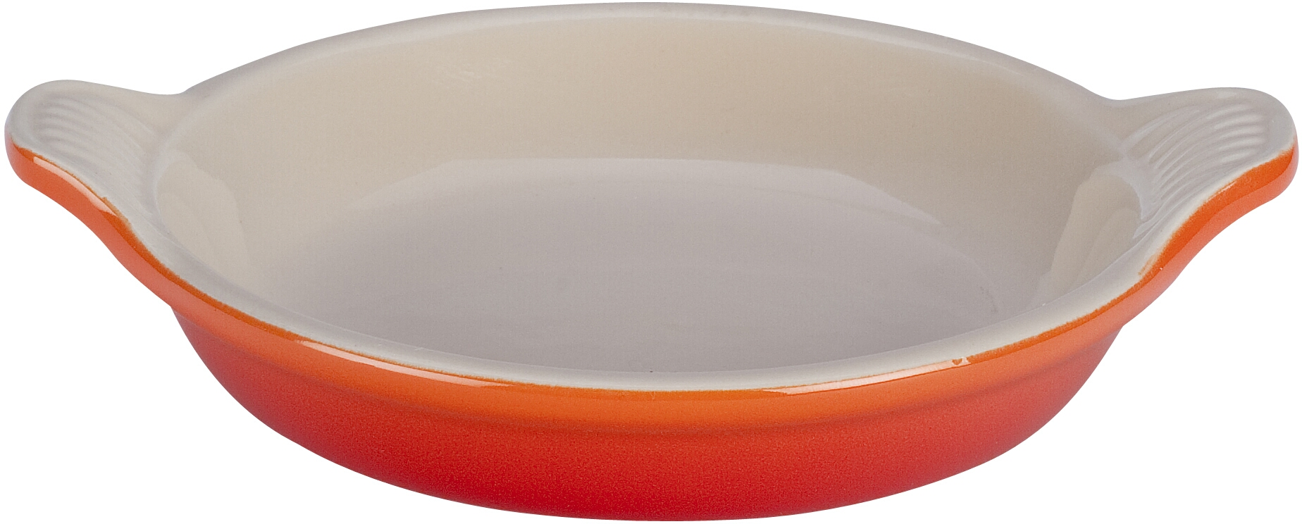 Le Creuset Flame Stoneware Creme Brulee Dish, 7 Ounce
