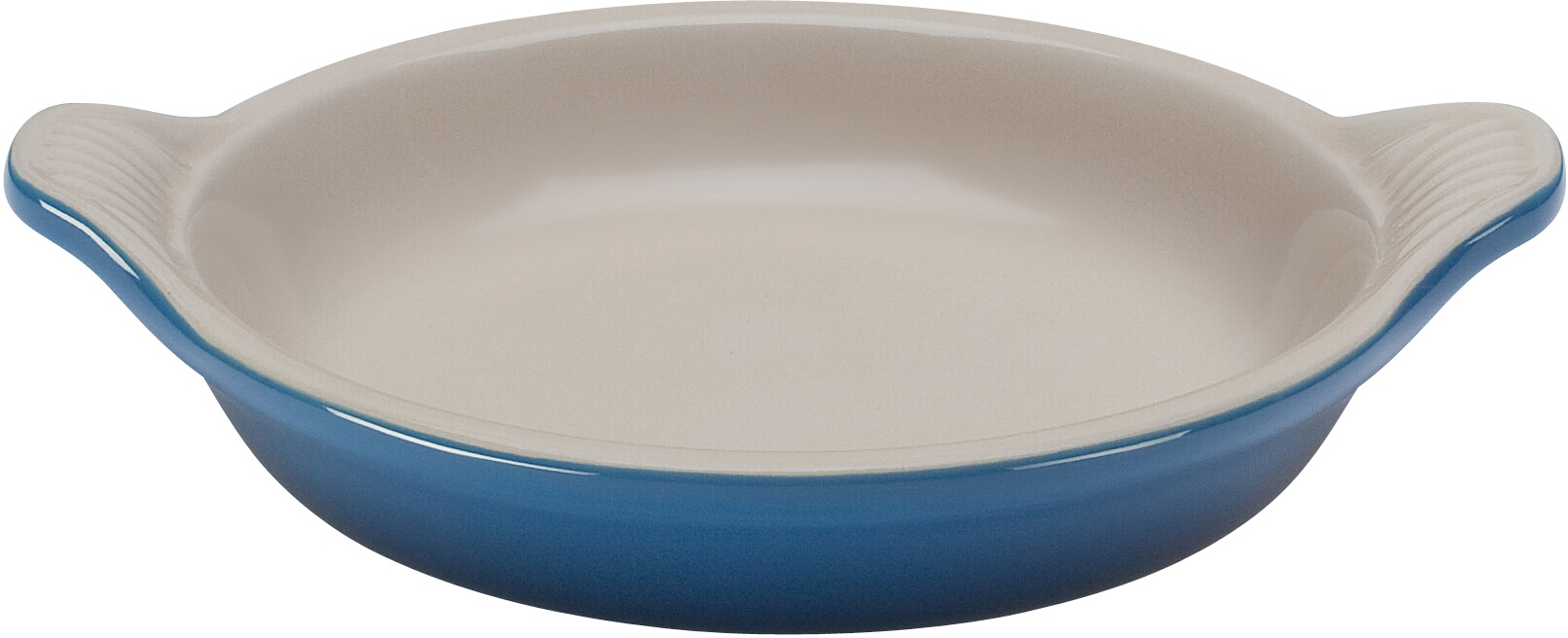 Le Creuset Marseille Blue Stoneware Creme Brulee Dish, 7 Ounce