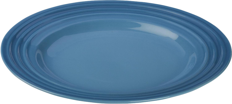 Le Creuset Marseille Blue Stoneware Salad Plate, 10 Inch