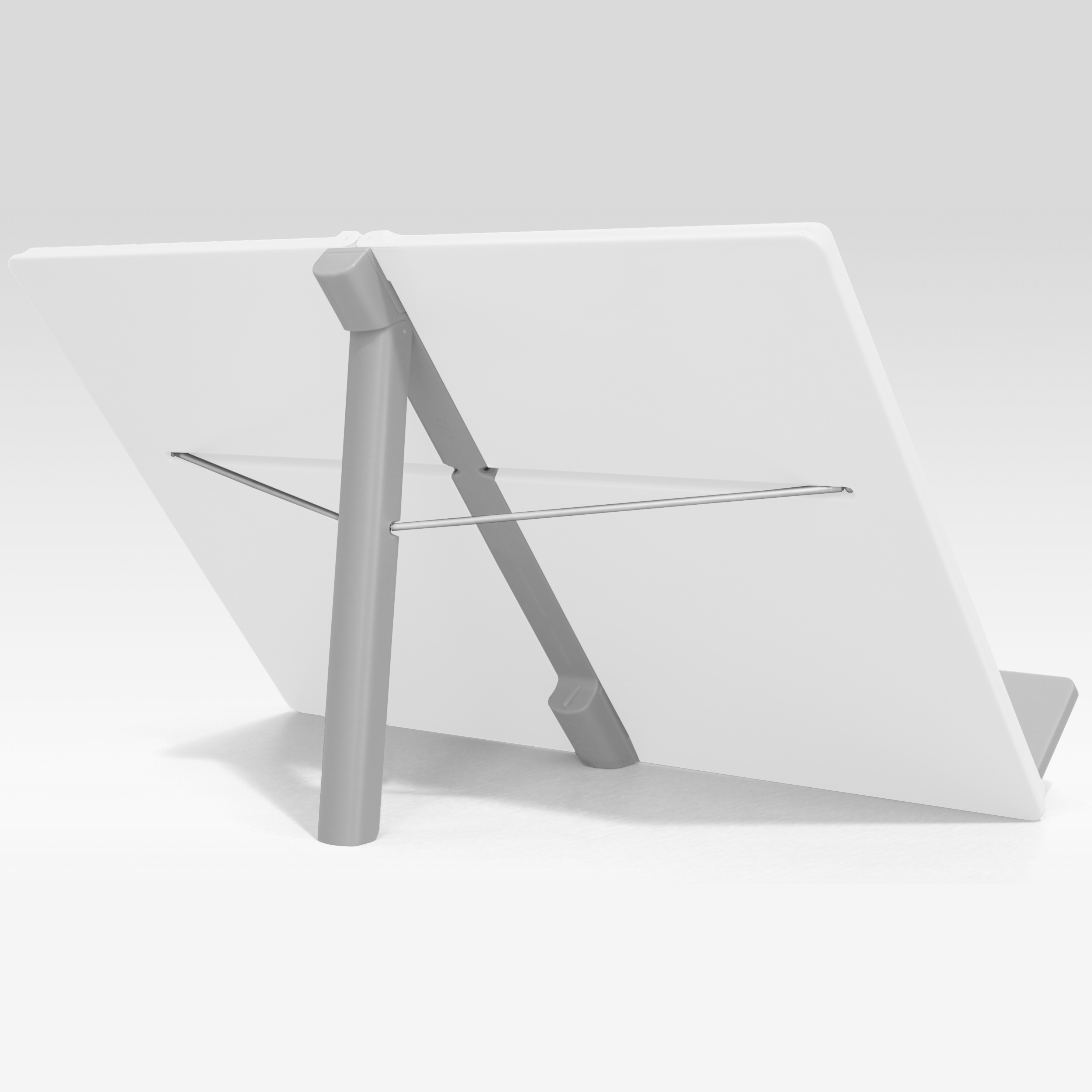 Joseph Joseph White Compact Folding Cookbook Stand