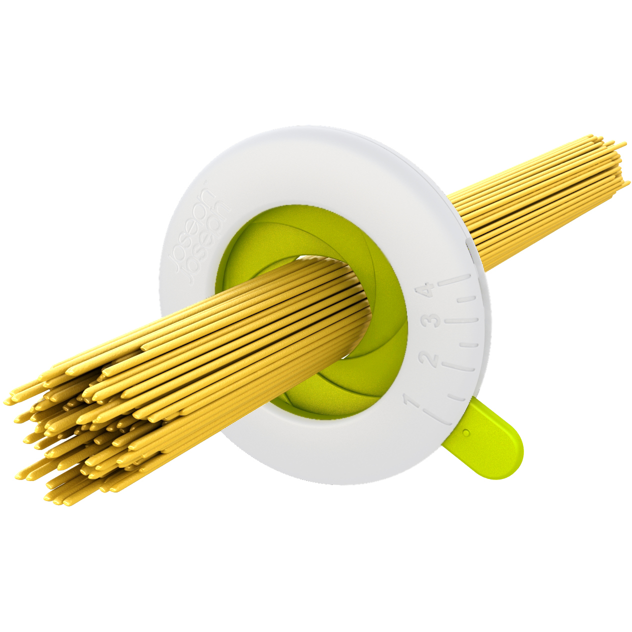 Joseph Joseph Green and White Spaghetti Measurer