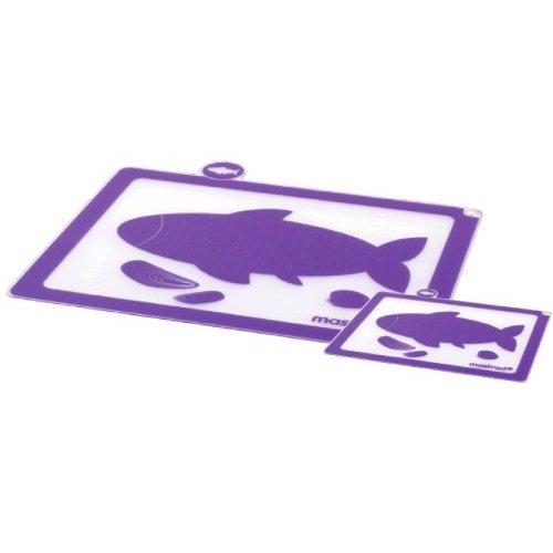 Mastrad Purple Silicone Cutting Board, Set of 2