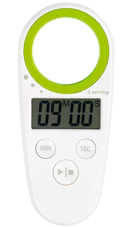Mastrad White and Green Spaghetti Timer