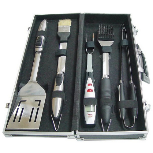 Maverick BBQ Accessory Kit in Black Carrying Case