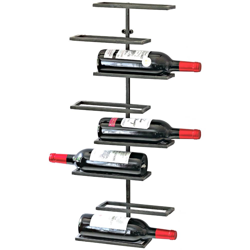 Wine Enthusiast Urban 8 Bottle Wall-Mounted Wine Rack