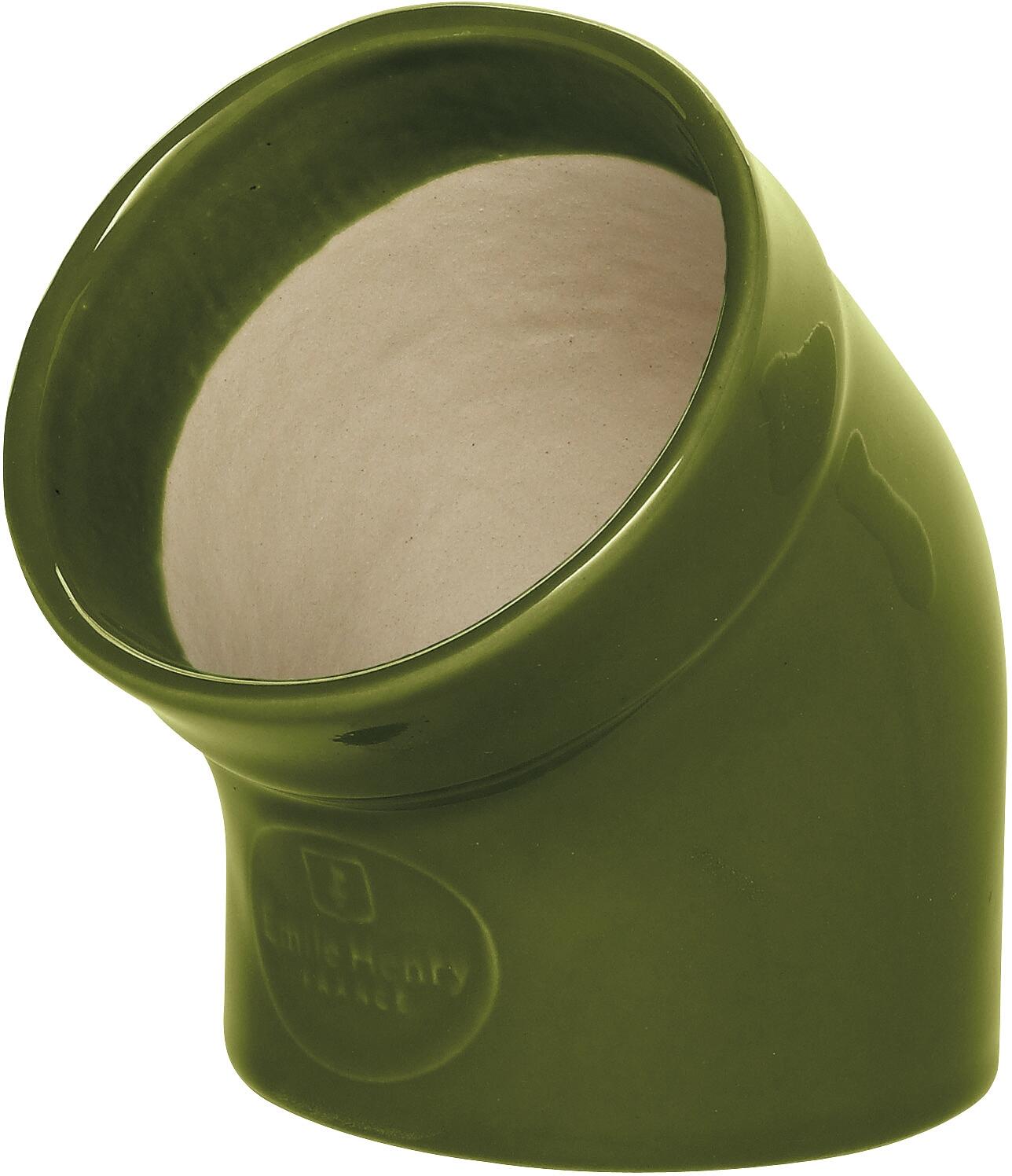 Emile Henry Olive Ceramic Gourmet Salt Pig
