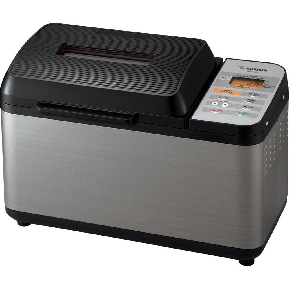 Zojirushi Home Bakery Black and Stainless Steel Virtuoso Bread Maker