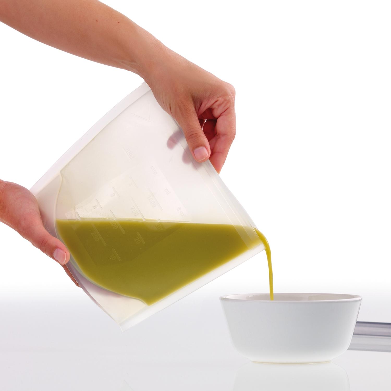Lekue Clear Fresh Bag, 1 Liter