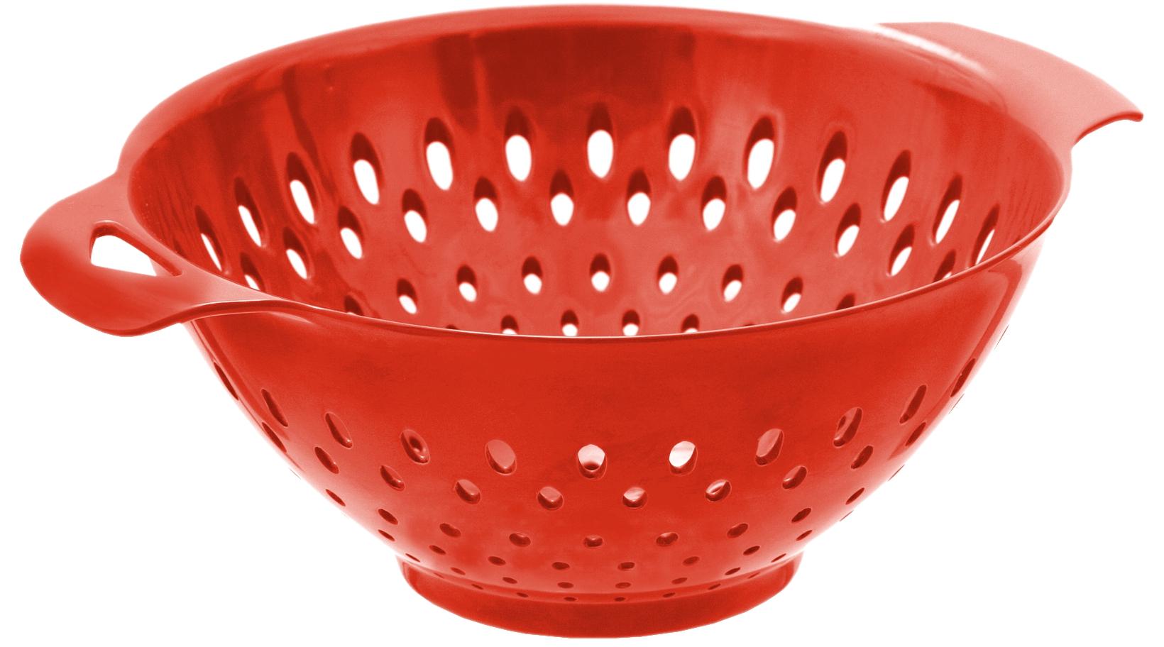 Tovolo Large Red Melamine Colander, 3.5 Quart