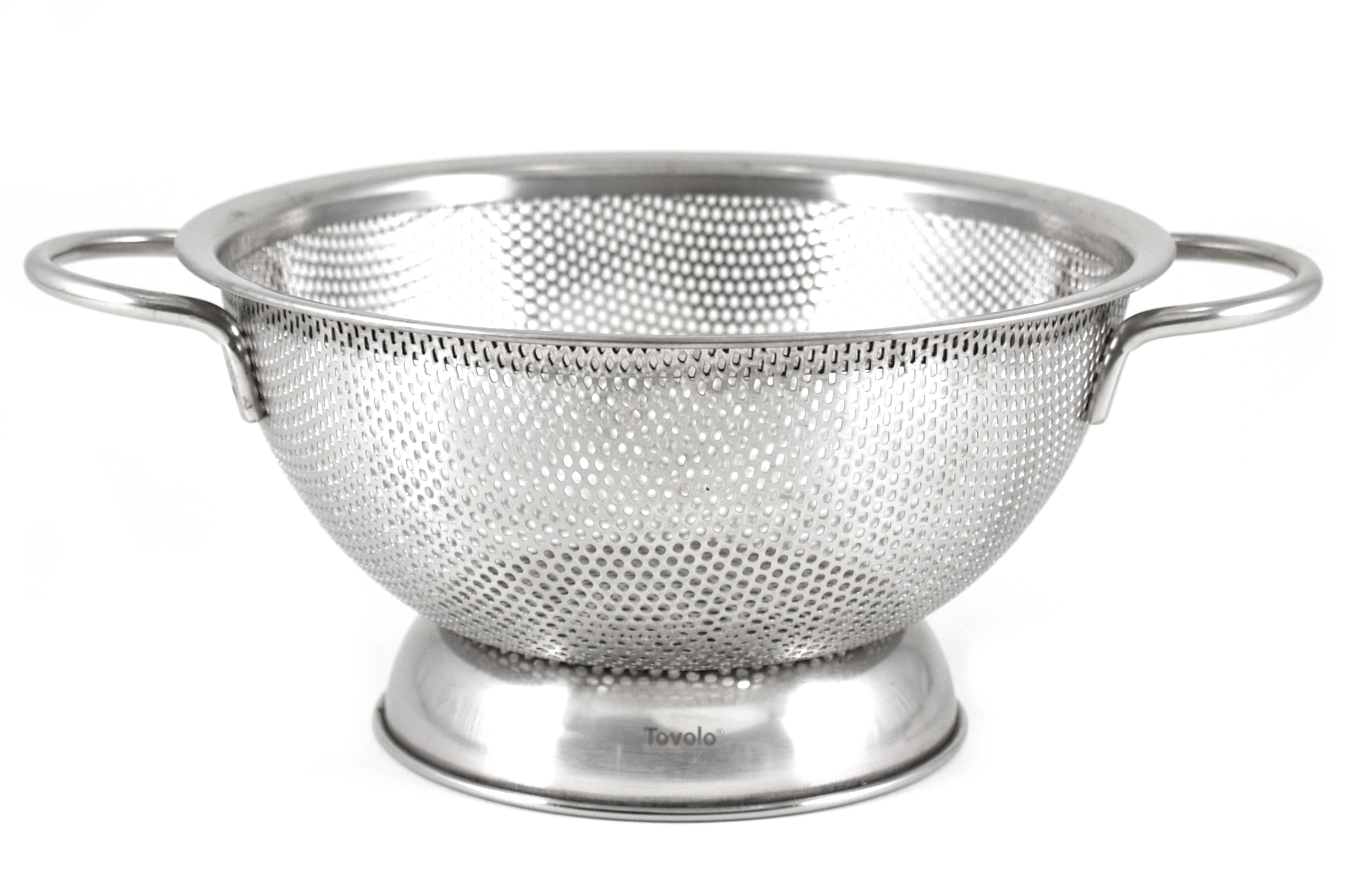 Tovolo Medium Stainless Steel Perforated Colander