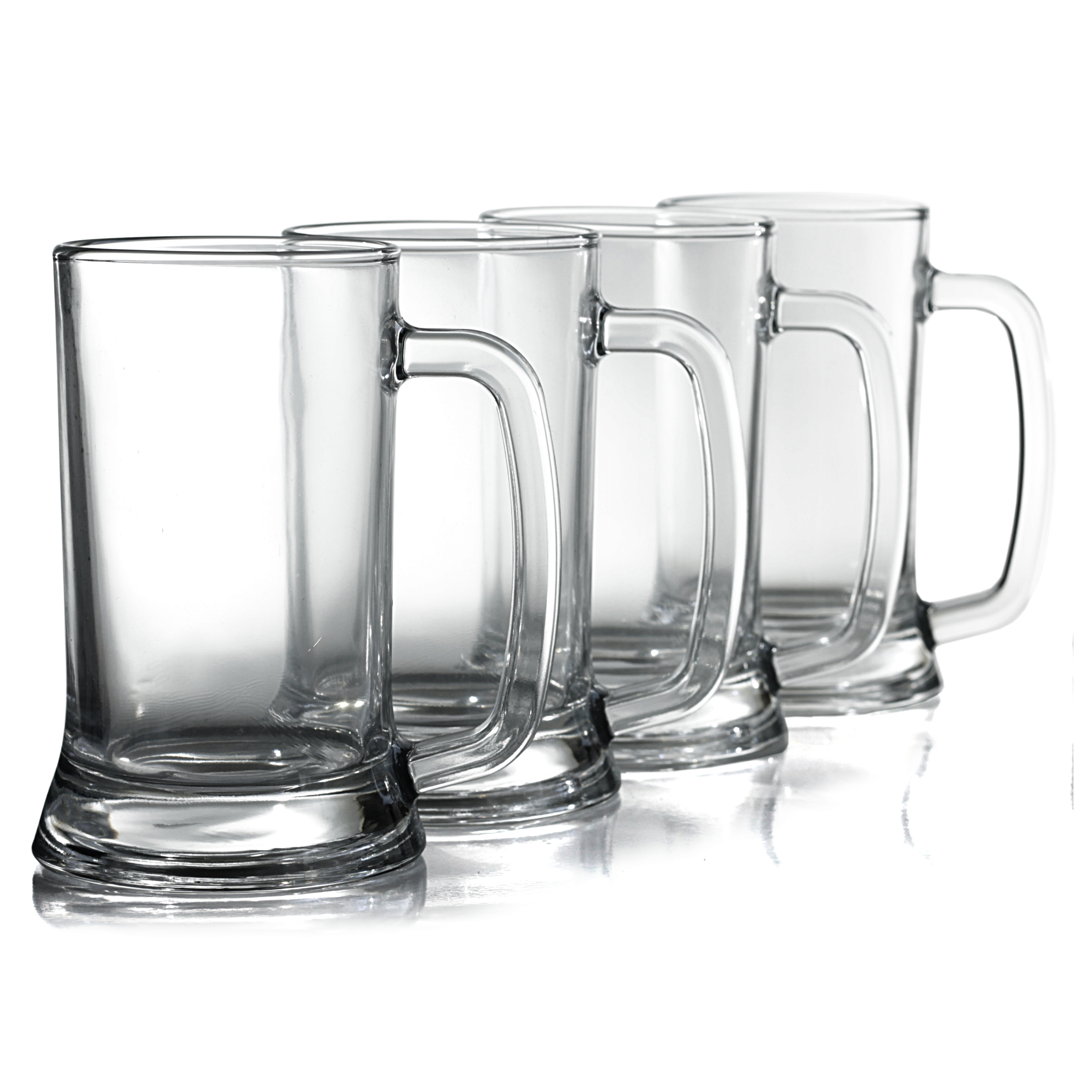 Anchor Hocking Academy of Beer Pub Mug, Set of 6
