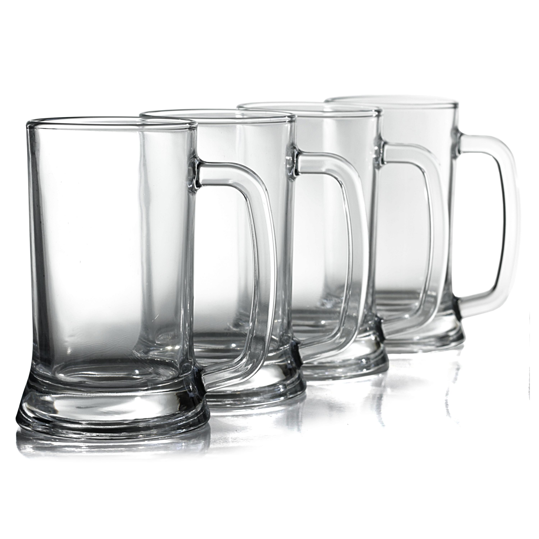 Anchor Hocking Academy of Beer Pub Mug, Set of 6