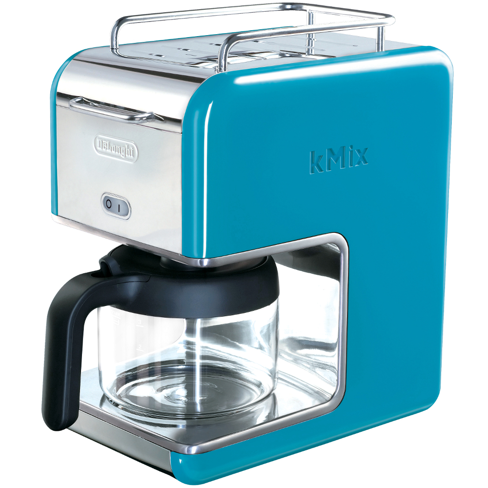 Delonghi Blue Kmix Drip Coffee Maker, 5 Cup