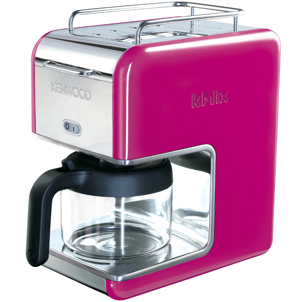 Delonghi Magenta Kmix Drip Coffee Maker, 5 Cup