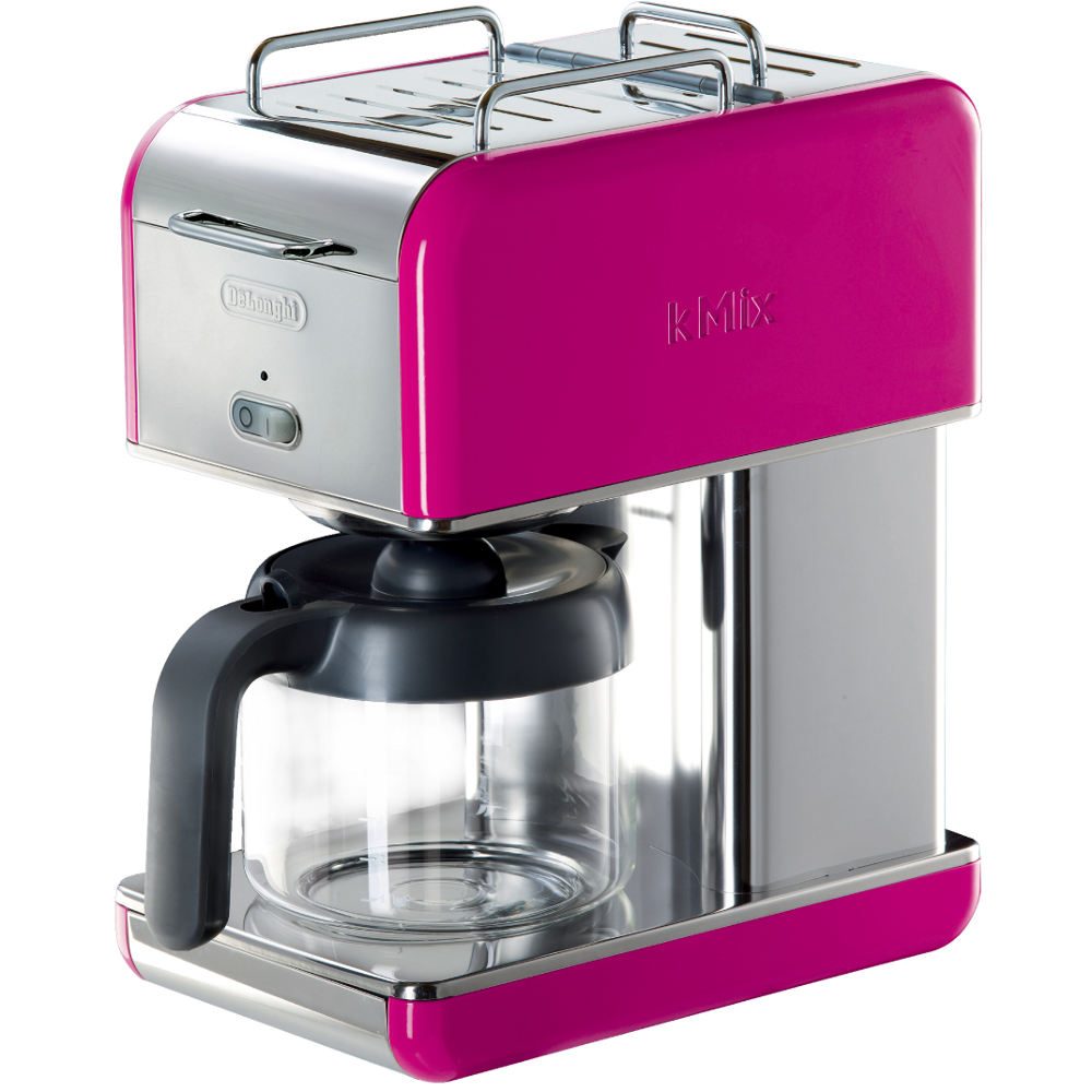 Delonghi Magenta Kmix Drip Coffee Maker, 10 Cup