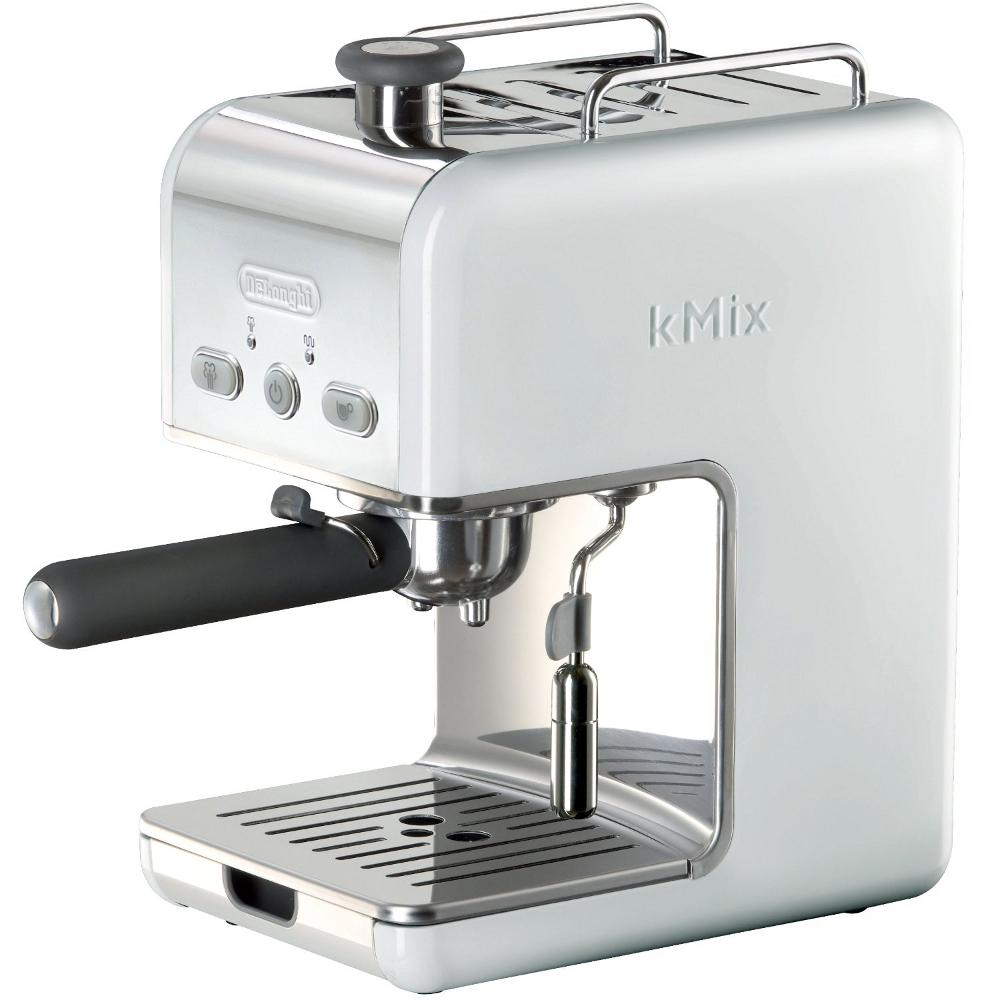 Delonghi White Kmix 15 Bar Pump Espresso Maker