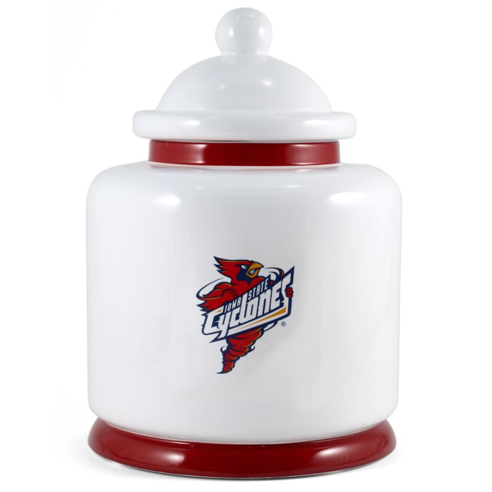 Iowa State University Cyclones Ceramic Cookie Jar