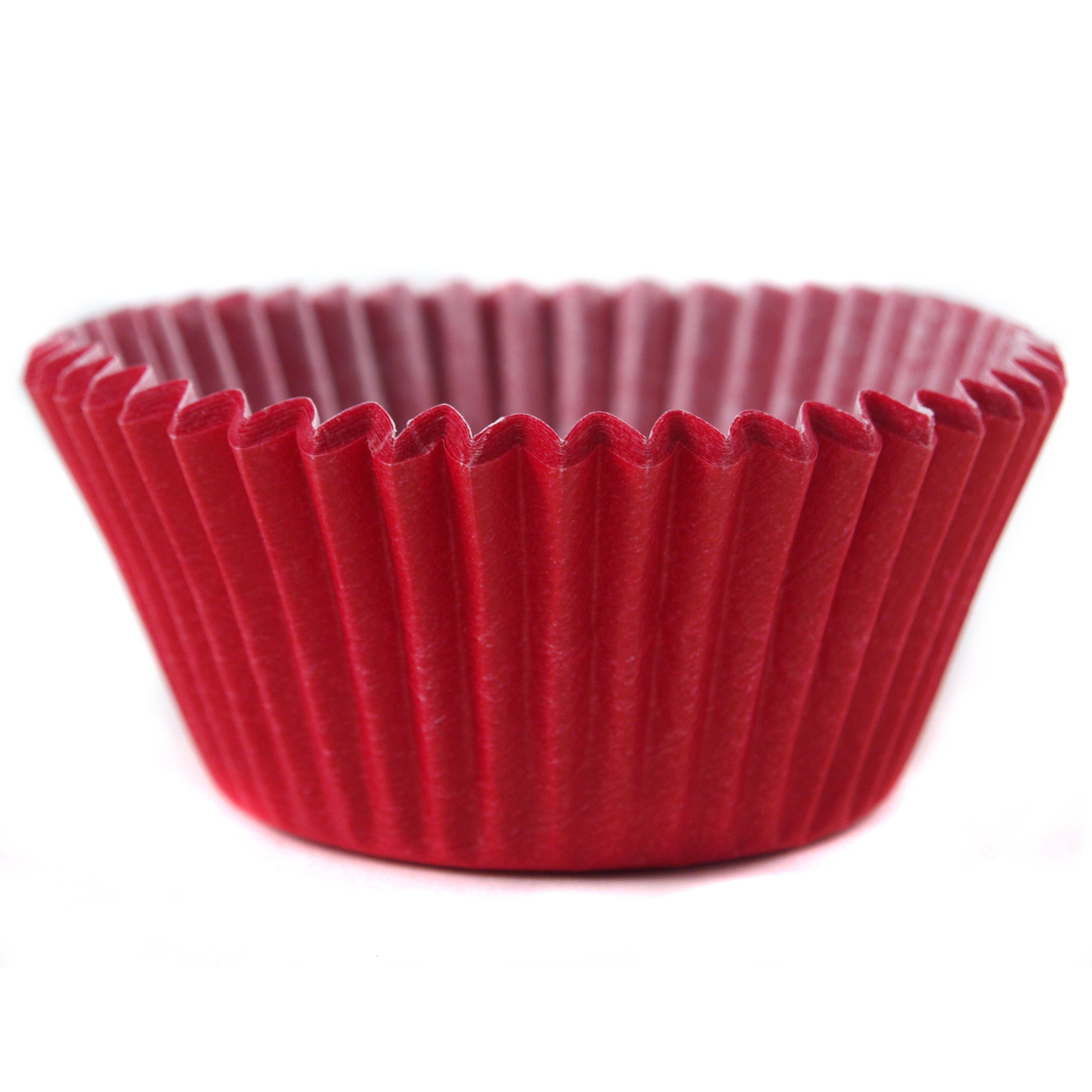 Cupcake Creations Solid Red Baking Cup, Set of 32