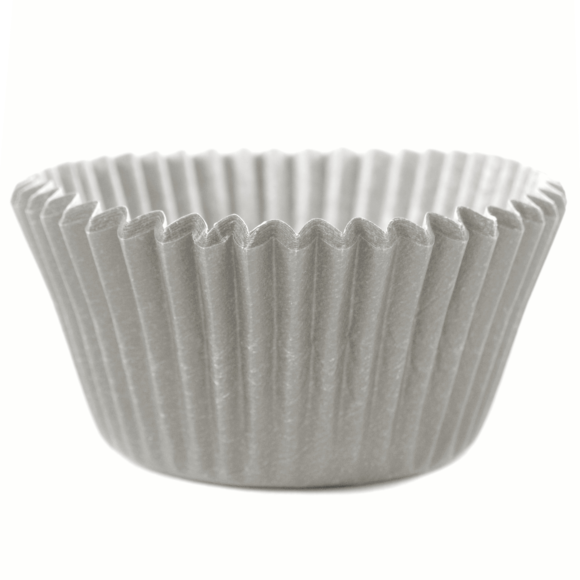 Cupcake Creations Silver Mini Baking Cup, Set of 60