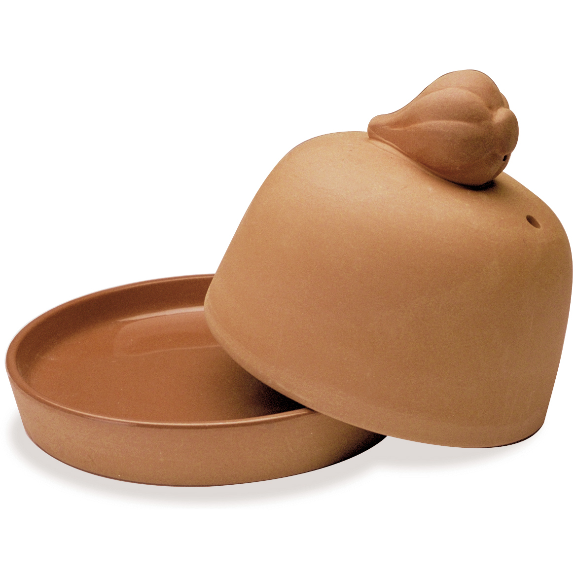 Progressive International Terra Cotta Garlic Roaster