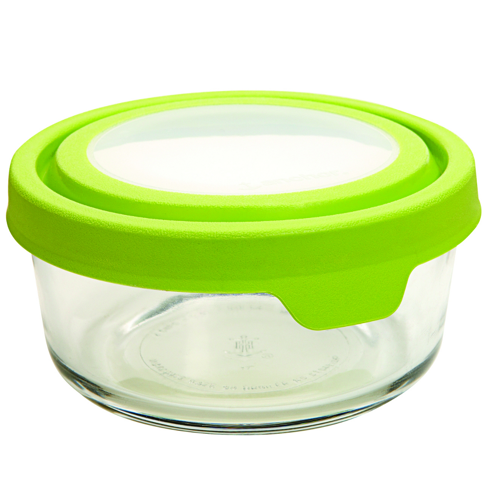 Kitchen Supply Anchor Hocking TrueSeal Glass Container, 2 Cup