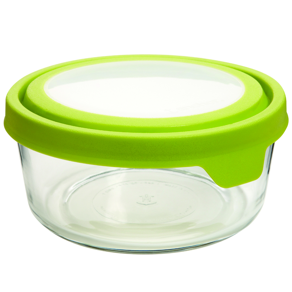 Anchor Hocking TrueSeal Round 7 Cup Glass Baking Dish with Lid